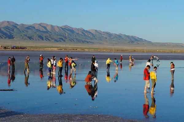 天空之镜-茶卡盐湖